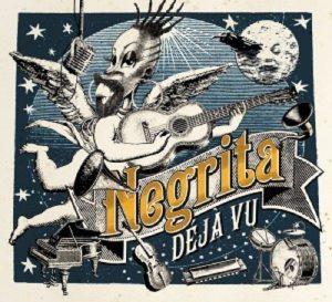 """Cover """"Dejà Vu"""" Negrita"""