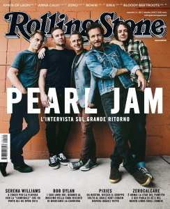 Pearl Jam su Rolling Stone