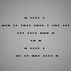 Messaggio in Codice Morse di The Killers | Twitter Official Account