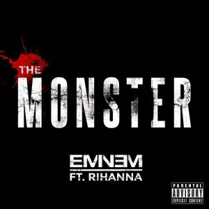 "Artwork ""The Monster"" Eminem feat. Rihanna"