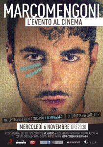 "Locandina ""#PRONTOACORREREILVIAGGIO"" Marco Mengoni"