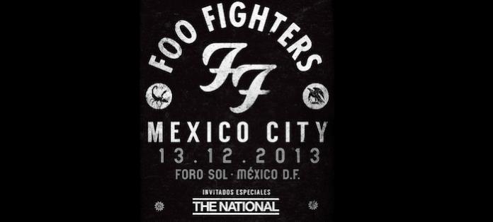 Foo Fighters in concerto a Città del Messico con i The National