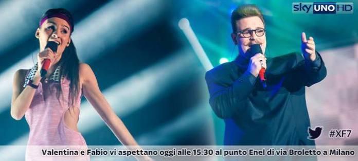 X Factor 7, vittime dell'Hell Factor Fabio e Valentina
