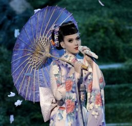Kety Perry versione Geisha | © Kevin Winter/Getty Images