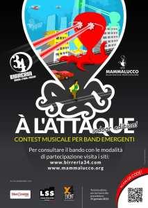 A l'Attaque - contest per band emergenti
