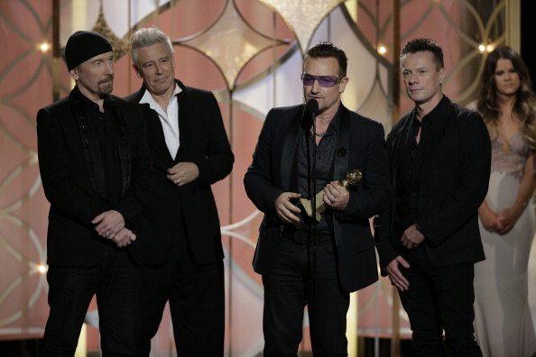 U2 premiati al Golden Globe | © Handout / Getty Images