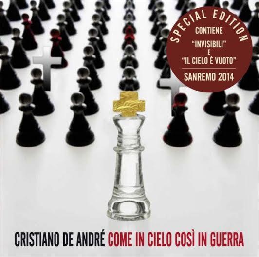 Cristiano De Andrè - Come il cielo così in guerra - Artwork
