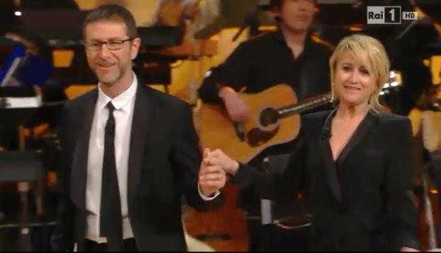 Fabio Fazio e Luciana Littizzetto  | Sanremo 2014