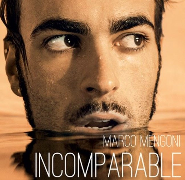 Marco Mengoni - Incomparable - artwork