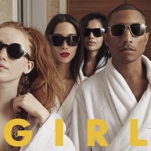 Pharrell Williams - G I R L - Artwork