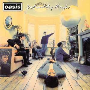 Oasis - Definitely Maybe - Artwork