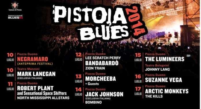 Pistoia Blues Festival 2014… Musica e non solo