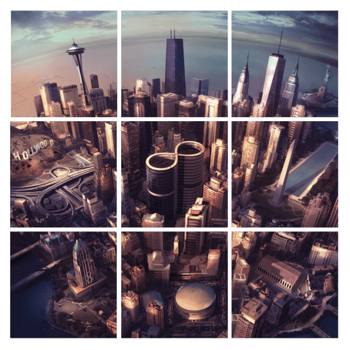 Foo Fighters - Sonic Highways - Vinyl Official Artwork