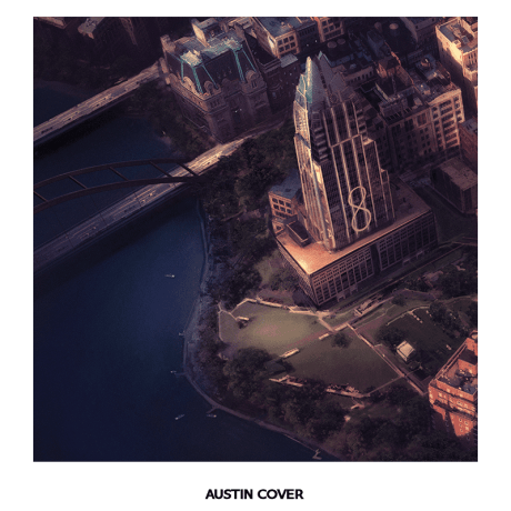 Foo Fighters - Sonic Highways - Austin Vinyl Cover