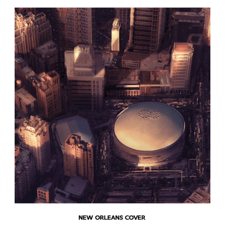 Foo Fighters - Sonic Highways - New Orleans Vinyl Cover