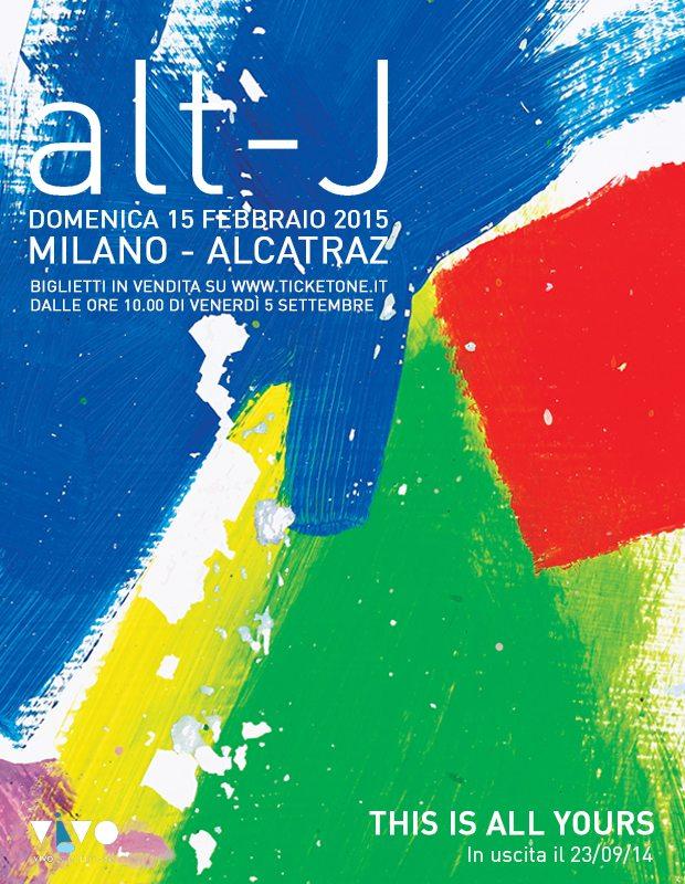 Alt-J Tour © Facebook