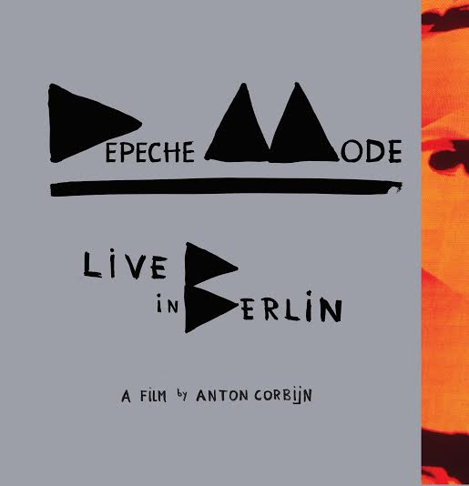 Depeche Mode Live In Berlin - Artwork