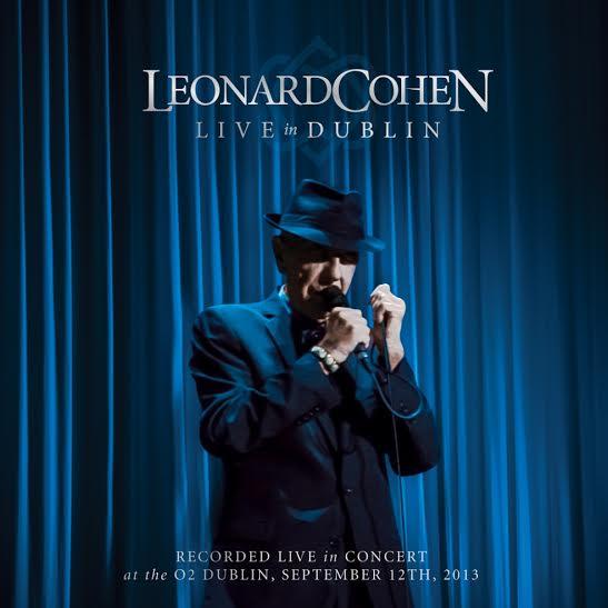 Leonard Cohen -Live in Dubblin - Artwork