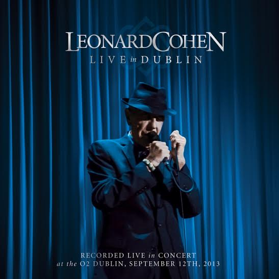 Leonard Cohen -Live in Dubblin - Artwork