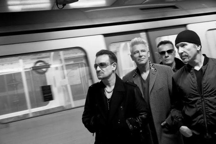 U2 a Che tempo che fa di Fazio | © Paolo Pellegrin