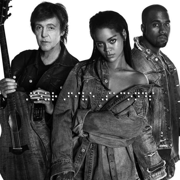 """FourFiveSeconds"" con Rihanna, Kenye West e Paul McCartney"