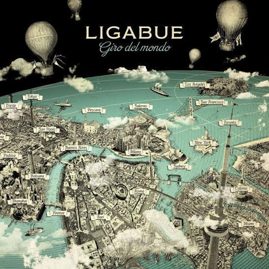 Ligabue - Giro del Mondo - Artwork