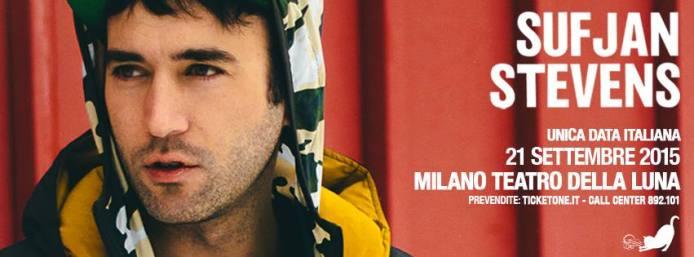 Sufjan Stevens unica data italiana a Milano