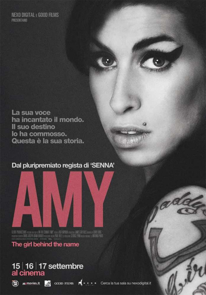 """Amy"", al cinema il docu-film su Amy Winehouse"