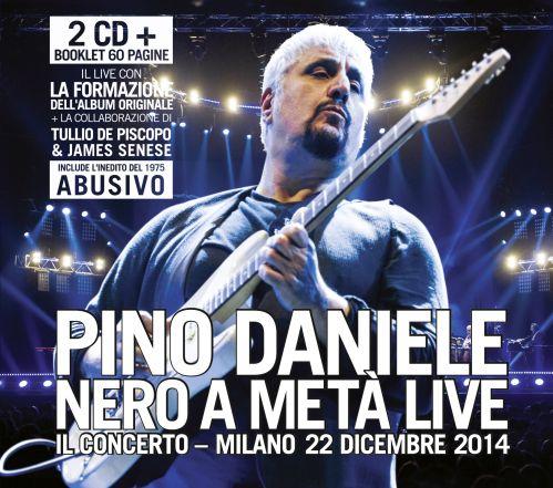 Pino Daniele - Nero a metà Live - artwork