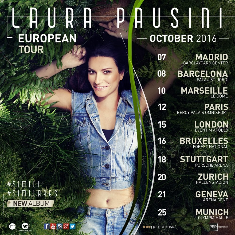 Simili European Tour 2016
