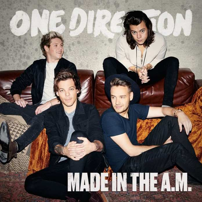 One Direction - Made in the A.M - Artwork