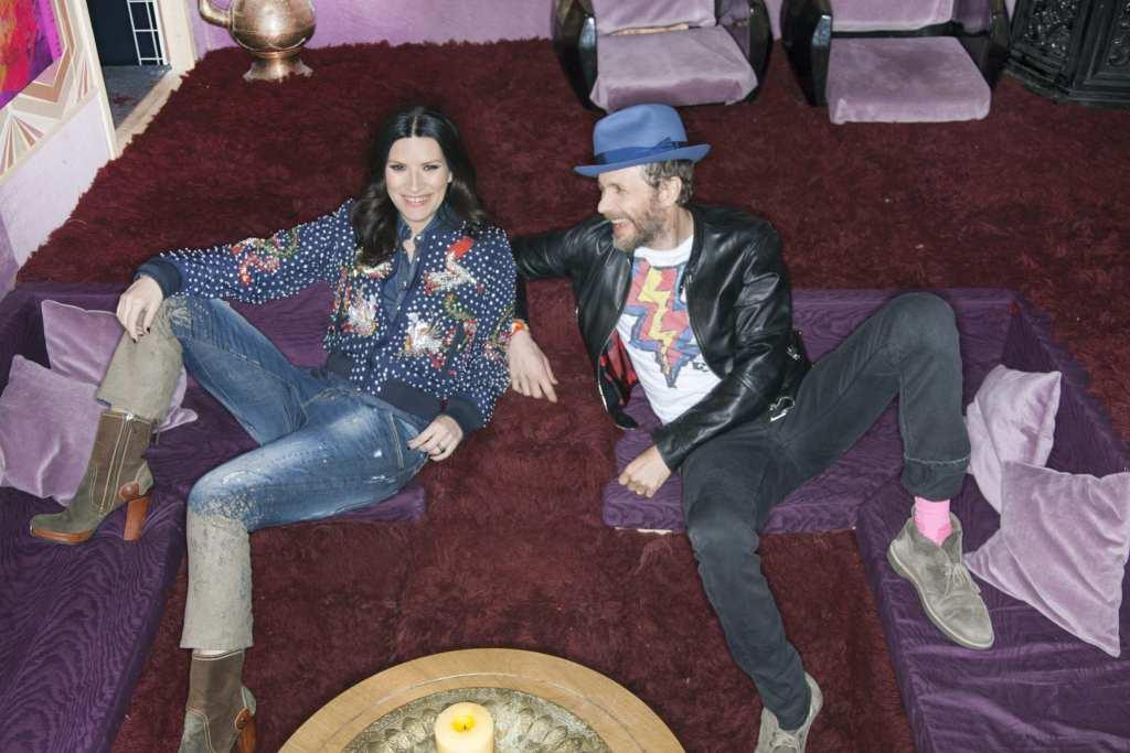 Laura Pausini e Jovanotti | © Leandro Manuel Emede