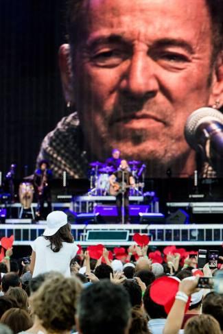 Buce Springsteen @ Circo Massimo, Rome |The River Tour - © Henry Ruggeri