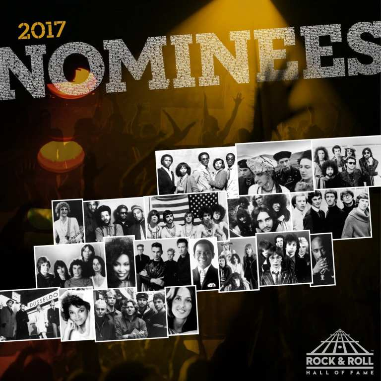 Rock and Roll Hall of Fame, Pearl Jam e Depeche Mode nominati