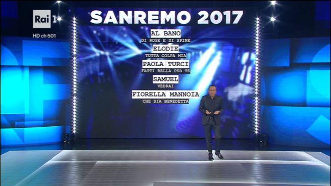 Festival di Sanremo 2017: ecco i nomi di big e giovani in gara