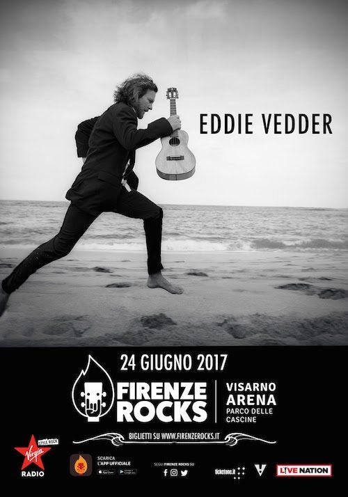 Eddie Vedder al Firenze Rocks