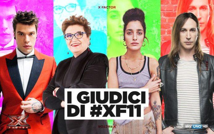 X Factor 11, i giudici saranno Maionchi, Fedez, Agnelli e Levante
