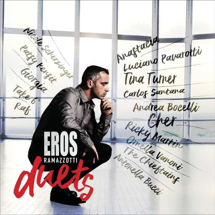 """Ramazzotti : arriva """"Eros Duets"""", l'album di duetti"""
