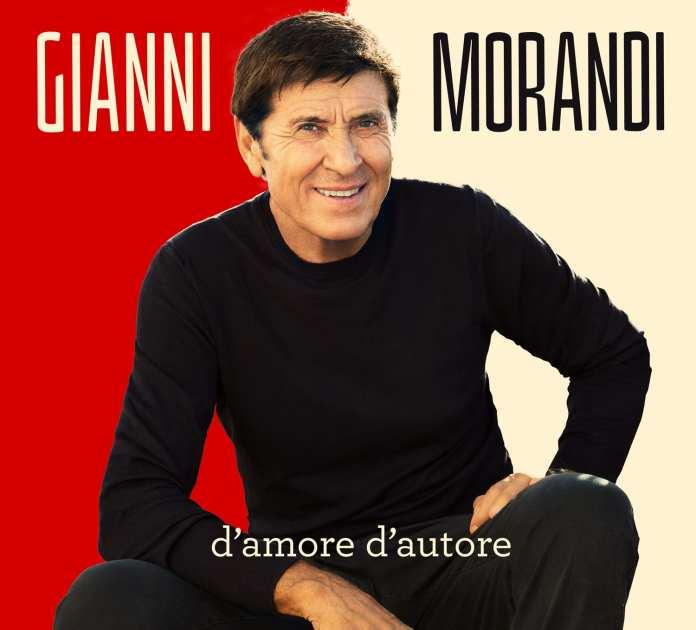 """Gianni Morandi: copertina e tracklist di """"D'amore d'autore"""""""