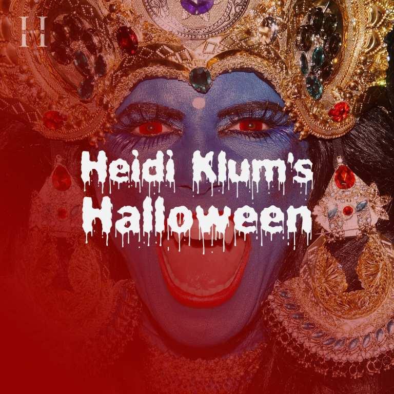 Heidi Klum e la sua playlist per Halloween su Spotify