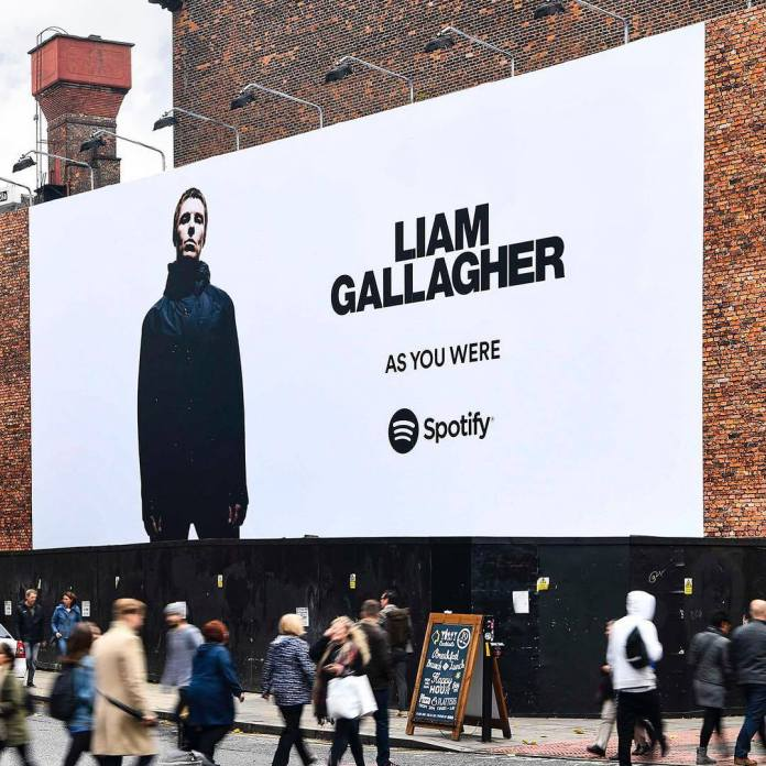 Liam Gallagher in italia per due date del tour