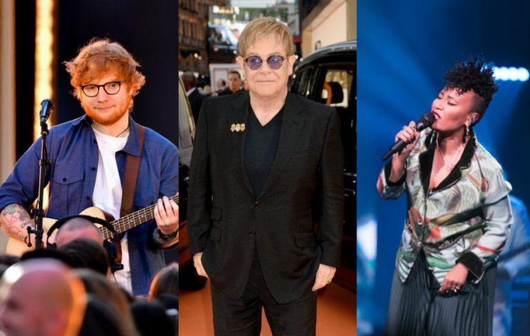 """La campagna """"End the Silence"""" avrà il supporto di Ed Sheeran ed Elton John"""