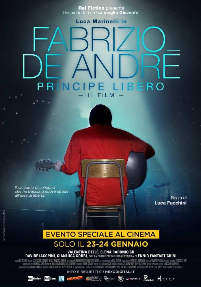 """""""Fabrizio De Andrè: Principe Libero"""" al cinema a Gennaio"""