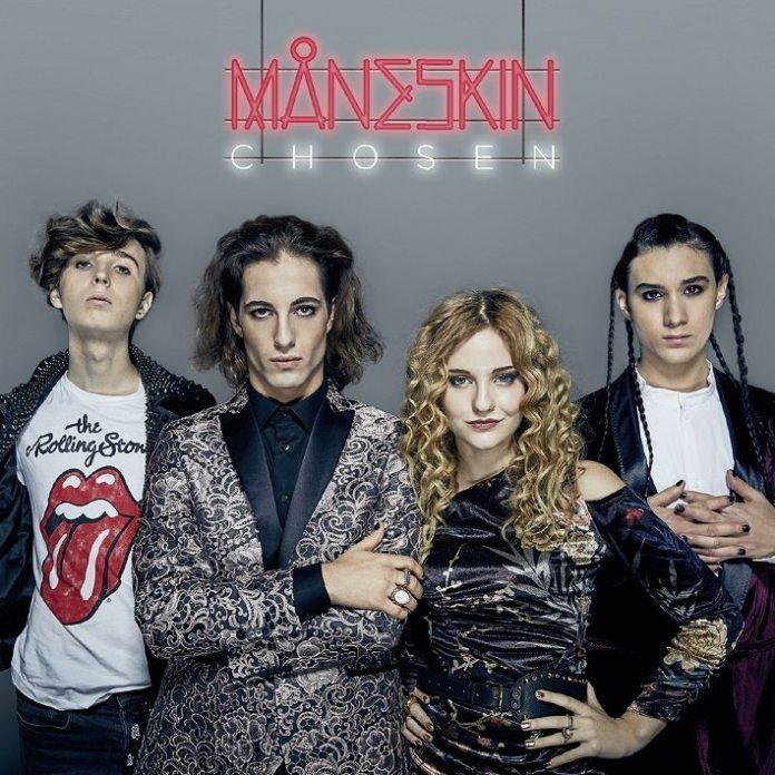"""Måneskin, l'EP di """"Chosen"""" dei finalisti di X Factor 11"""