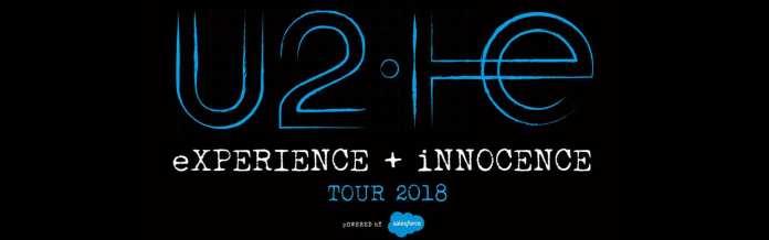 U2 a Milano ad ottobre con eXPERIENCE + iNNOCENCE Tour 2018