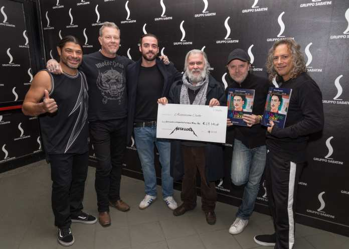 I Metallica a Bologna tra record e beneficenza