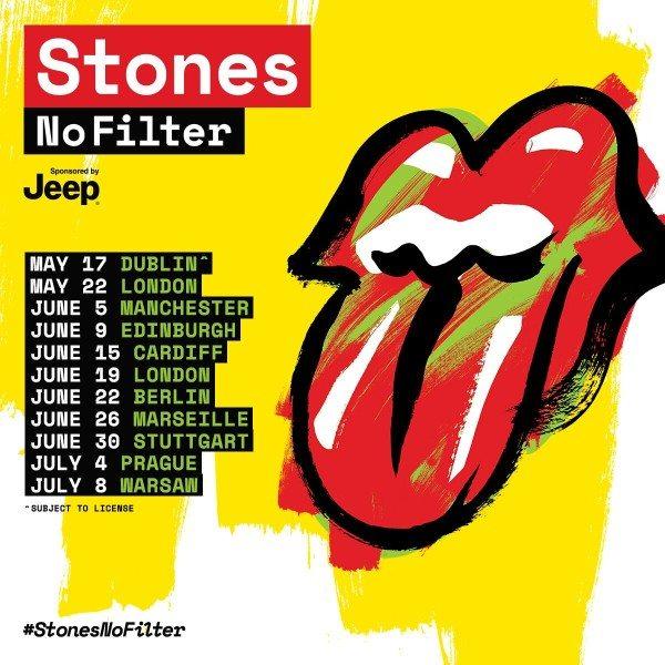 I Rolling Stones annunciano tour estivo 2018 ma niente Italia