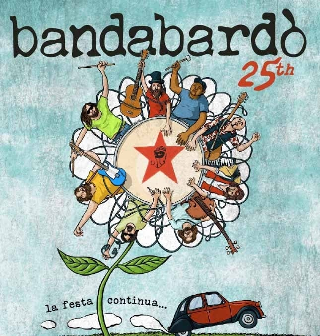 """I Bandabardò festeggiano i 25 anni di carriera con """"Se mi rilasso collasso"""""""