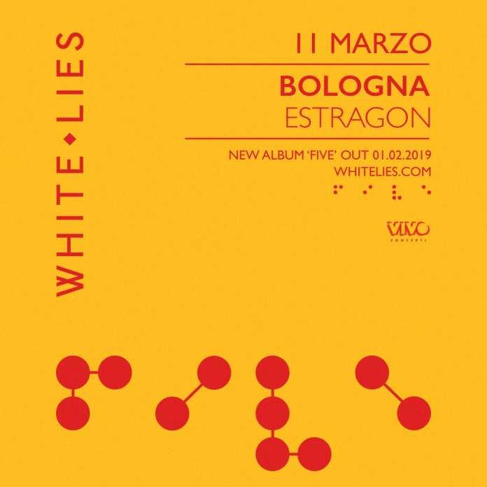 White Lies a Bologna per l'unica tappa italiana del tour