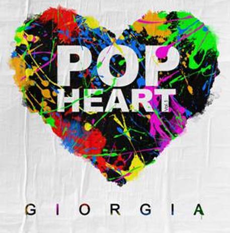 """""""Pop Heart"""" è il titolo del nuovo disco di Giorgia"""